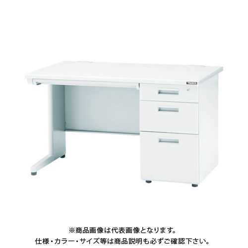 【個別送料1000円】【直送品】 TRUSCO システムデスク 片袖 1200X700XH700 TKD-1270