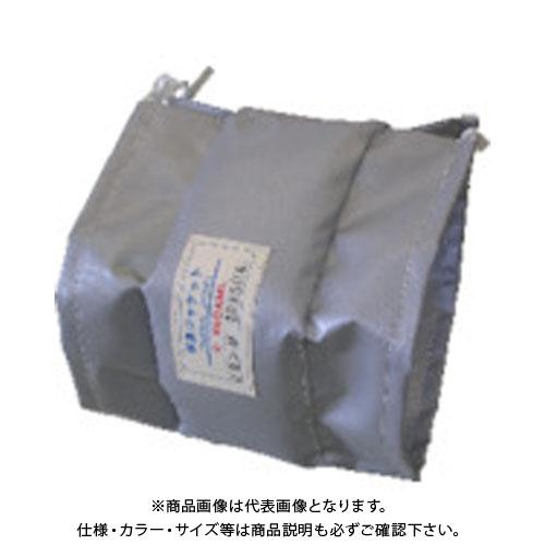 【運賃見積り】【直送品】ヤガミ フランジ用保温ジャケット TJF-80A