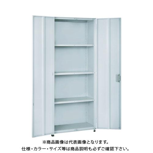 【個別送料1000円】【直送品】 TRUSCO 軽中量棚TLA型用両開き扉 H1200W900用 TLA-DH43