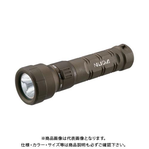TRUSCO 充電式防水LEDライト NUDA 320ルーメン OD色 TLWN-320-OD