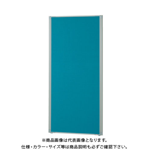 【直送品】 TRUSCO ローパーティション 全面布張り W600XH1465 グリーン TLP-1506A-GN