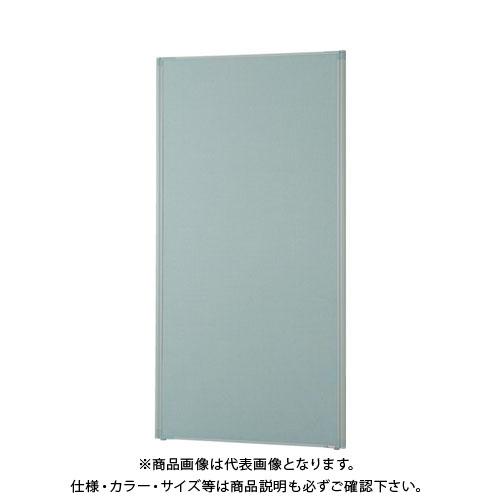 【直送品】 TRUSCO ローパーティション 全面布張り W900XH1765 グレー TLP-1809A-GY