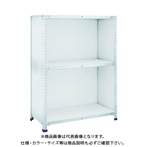 【運賃見積り】【直送品】 TRUSCO 軽量150型背側板付棚 W1500XD300XH1200 3段 TLA45K-23