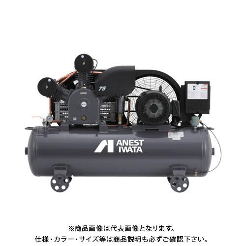 【直送品】アネスト岩田 レシプロコンプレッサ(タンクマウント・オイルタイプ) 50Hz TLP110EG-14M5
