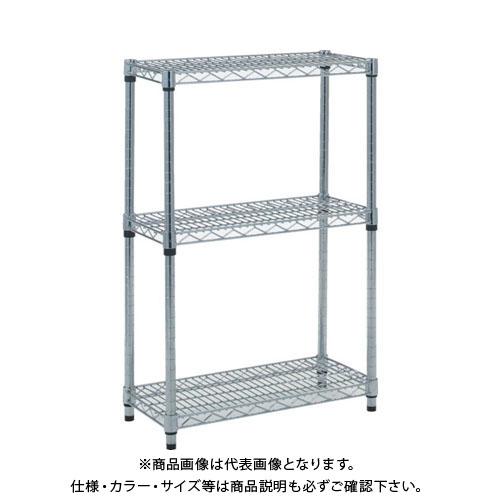 【個別送料1000円】【直送品】 TRUSCO スチール製メッシュラック W905XD457XH923 3段 TME-3343