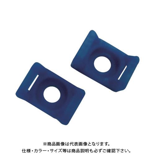 パンドウイット タイマウント テフゼル アクアブルー (100個入) TM3S8-C76