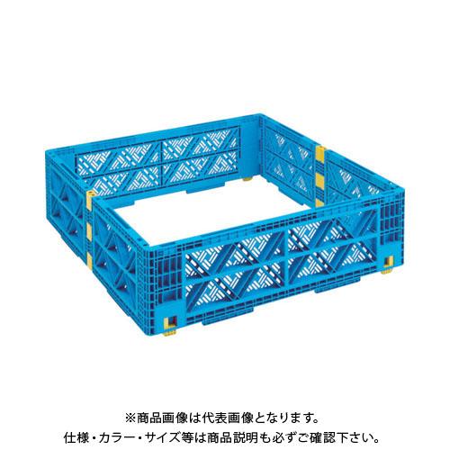 【運賃見積り】【直送品】 TRUSCO TMSC型コンテナ用レイヤー メッシュ 1100X1100 緑 TMSC-LM1111-GN