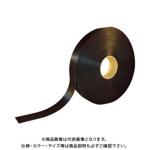 TRUSCO 耐候性マジックバンド結束テープ 両面 幅40mmX長さ30m 黒 TMKT-40W-BK