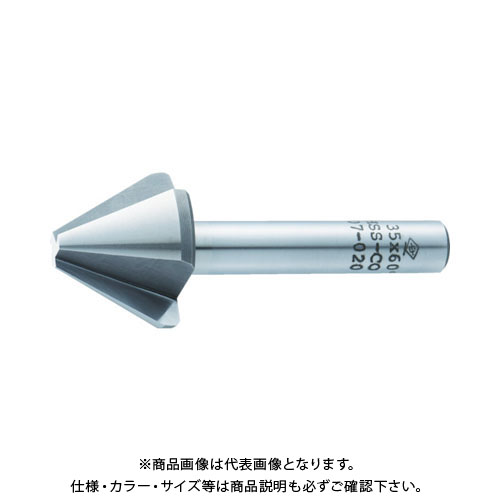 【20日限定!3エントリーでP16倍!】TRUSCO MC 面取リーマ 35.0mm 60度 TMC-35-60