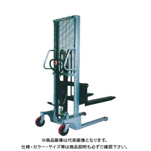 【運賃見積り】【直送品】TRUSCO コゾウスタッカー1000kg(足踏み油圧式)H85-1600 TPAH-L-1016