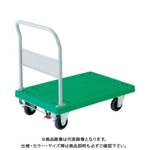 【運賃見積り】【直送品】TRUSCO 樹脂台車 グランカート 固定 900X605 S付 TP-902S