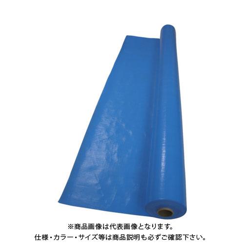 【運賃見積り】【直送品】萩原 ターピークロスブルー#3000 2.7m幅×100m TPC27BL