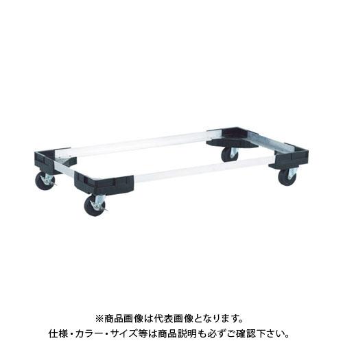 【運賃見積り】【直送品】 TRUSCO プラスチック棚専用台車 TPT-DR