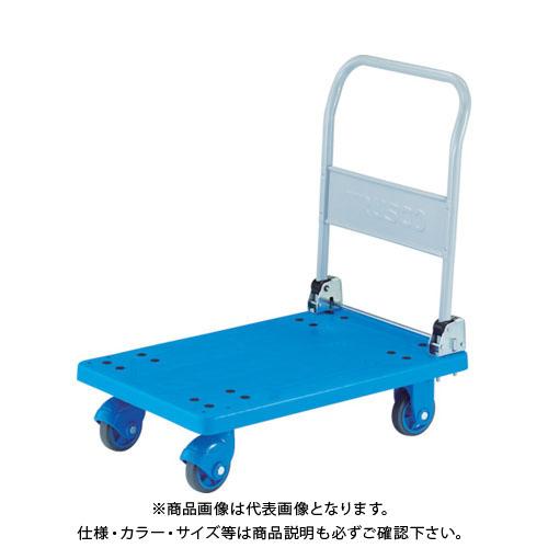 【運賃見積り】【直送品】TRUSCO 樹脂台車 グランカート サイレント 折りたたみ 800x535 TP-X801