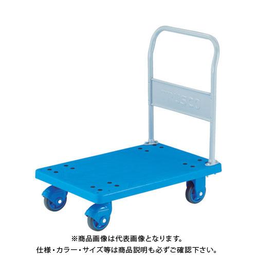 【運賃見積り】【直送品】TRUSCO 樹脂台車 グランカート サイレント 固定 900X605 TP-X902