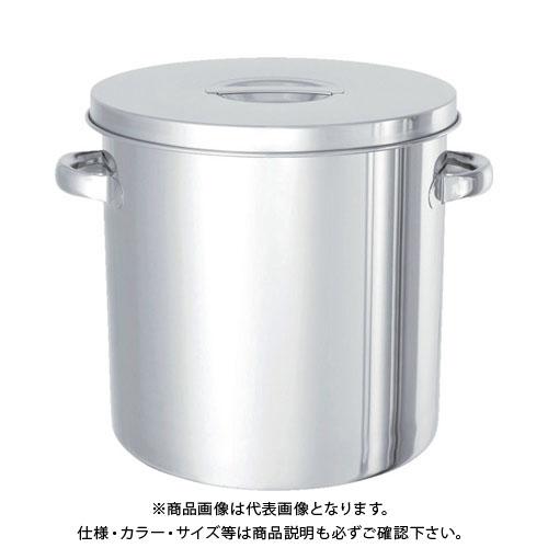 日東 ステンレスタンク テーパー付貯蔵用タンク(フタ付) 36L TP-ST-36