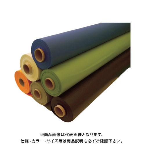 【直送品】 TRUSCO ターポリンシート グレー 1850X50M 0.35mm厚 TPS1850R-GY