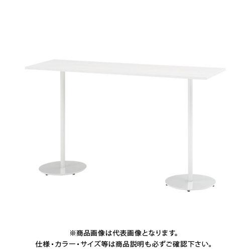 【運賃見積り】【直送品】 イトーキ ハイテーブル(角型)1800X500X1000 TRA-185HH-W9W9