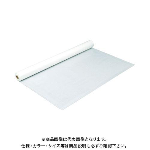 【運賃見積り】【直送品】 萩原 #3000クロスホワイト 1.8m幅×100m TPN18WH