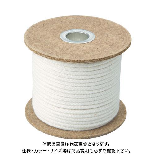 TRUSCO 難燃ロープ6mmX30m TRNR-630B