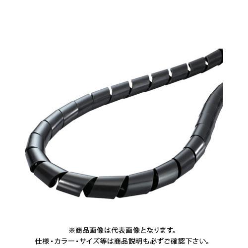 ヘラマンタイトン スパイラルチューブ (ポリエチレン製 耐候グレード) TS-15-W