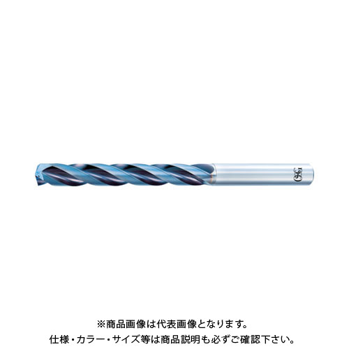 OSG 超硬油穴付3枚刃メガマッスルドリル(内部給油タイプ) 8662530 TRS-HO-5D-5.3