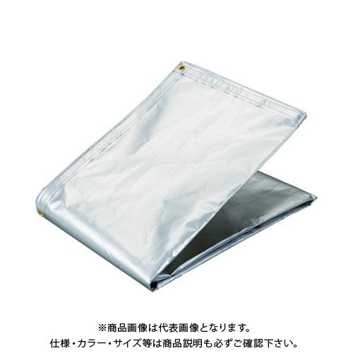 TRUSCO アルミ蒸着塩ビ遮熱シート 1.8×5.4M TRSPC-1854