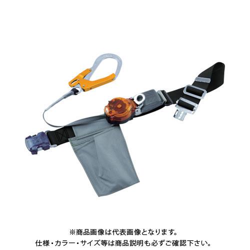 【納期約1ヶ月】ツヨロン なでしこ2WAYリトラ安全帯(OTバックル)黒色SS寸軽量型オレンジ TRL-OT93OC-BLK-OR-SS-BP