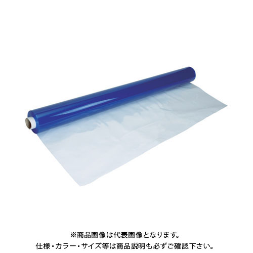 【運賃見積り】【直送品】 TRUSCO 帯電防止フィルムシート 防炎性なし 1.0X1830X12M TSEF-BN-10
