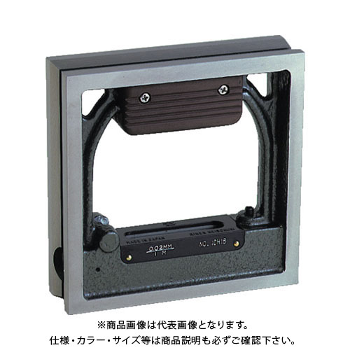 TRUSCO 角型精密水準器 B級 寸法100X100 感度0.02 TSL-B1002