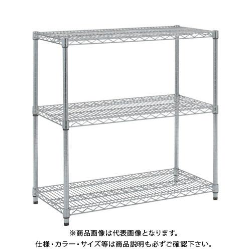 【個別送料1000円】【直送品】 TRUSCO ステンレス製メッシュラック H923XW905XD457 3段 TSM-3343