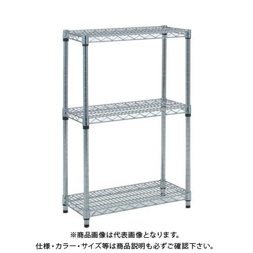 【個別送料1000円】【直送品】 TRUSCO ステンレス製メッシュラック H923XW1207XD457 3段 TSM-3443