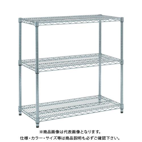 【個別送料1000円】【直送品】 TRUSCO ステンレス製メッシュラック H923XW905XD609 3段 TSM-3363