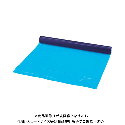 TRUSCO 表面保護テープ ブルー 幅1020mmX長さ100m TSP-510B