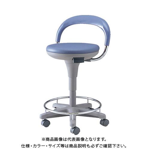 【直送品】 ノーリツ マルチスツール ビニールレザー ブルー TSS-18RL B