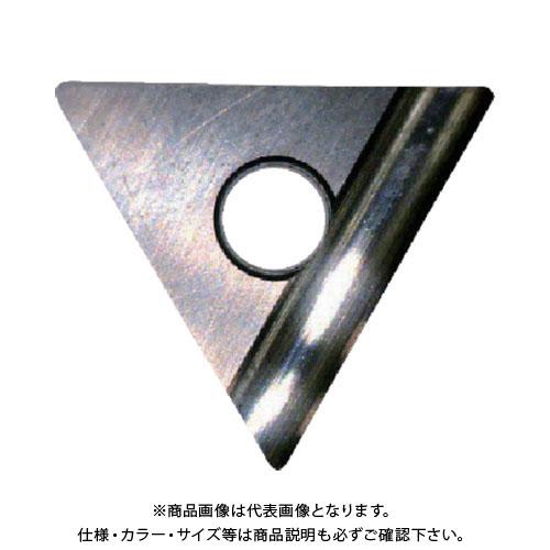 富士元 C面取り用精密級チップ 超硬K種 NK1010 12個 TT32GUR:NK1010