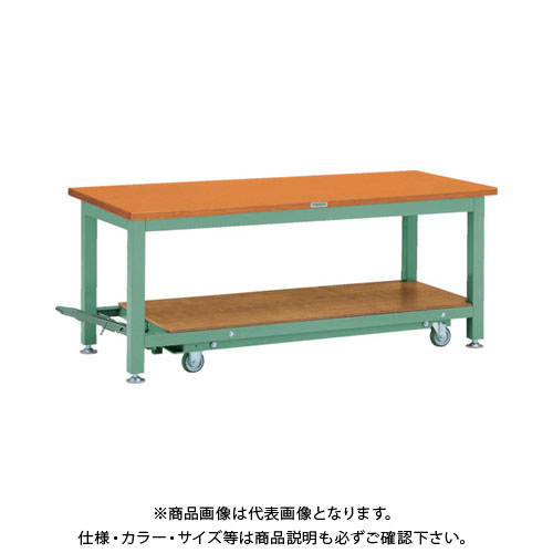 【運賃見積り】【直送品】 TRUSCO TWC型作業台 1800X750XH740 TWC-1800