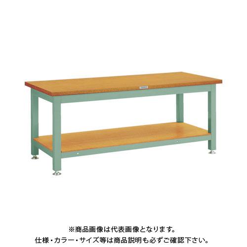【運賃見積り】【直送品】 TRUSCO TW型作業台 1800X750XH740 TW-1800