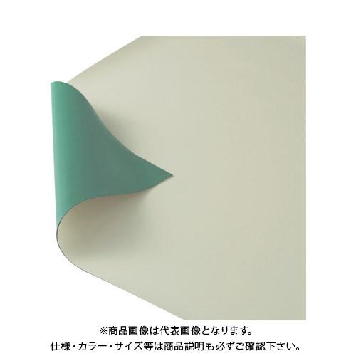 【個別送料2000円】【直送品】 TRUSCO 作業台用静電マット 1800X900 グリーン/ベージュ TWGB-1890