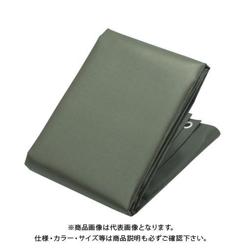 【個別送料1000円】【直送品】TRUSCO エコ超厚手UVシート#5000 ODグリーン 幅10.0mX長さ1 TUV50001010