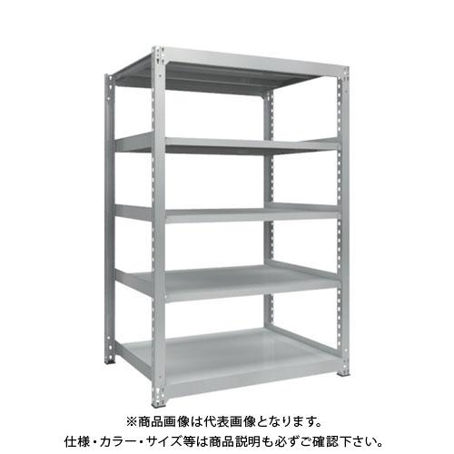 【直送品】 TRUSCO TZM3型中量棚 1200X921XH1800 5段 単体 TZM3-6495