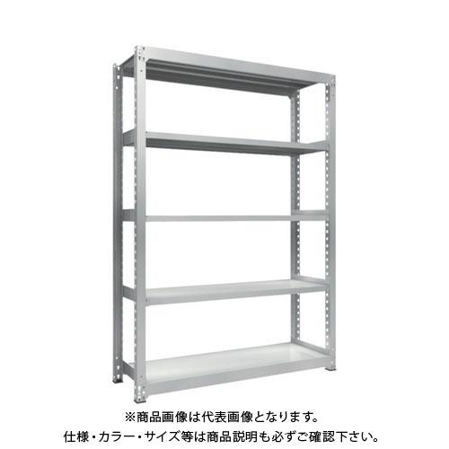 【運賃見積り】【直送品】 TRUSCO TZM3型中量棚 1500X471XH2100 5段 単体 TZM3-7555