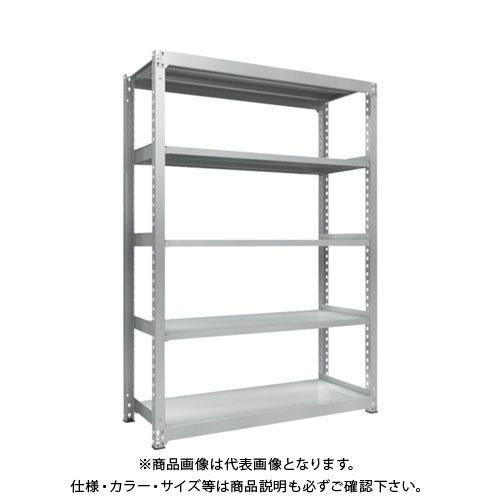 【運賃見積り】【直送品】 TRUSCO TZM3型中量棚 1500X571XH2100 5段 単体 TZM3-7565
