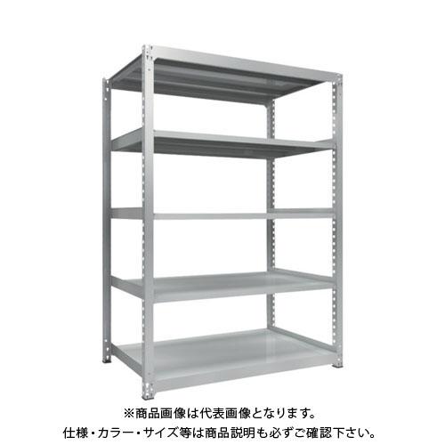 【直送品】 TRUSCO TZM3型中量棚 1500X921XH2100 5段 単体 TZM3-7595