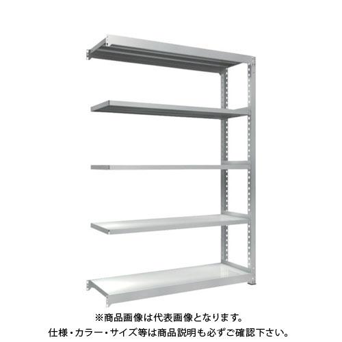 【直送品】 TRUSCO TZM3型中量棚 1500X471XH2100 5段 連結 TZM3-7555B