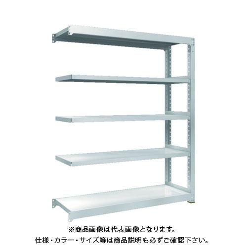 【運賃見積り】【直送品】 TRUSCO TZM3型中量棚 1500X471XH1800 5段 連結 TZM3-6555B