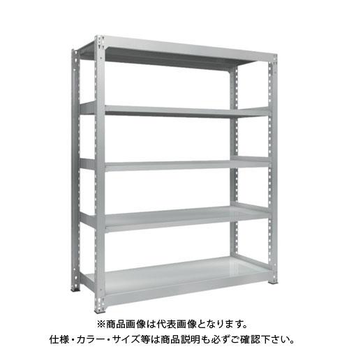 【直送品】 TRUSCO TZM3型中量棚 1500X571XH1800 5段 単体 TZM3-6565