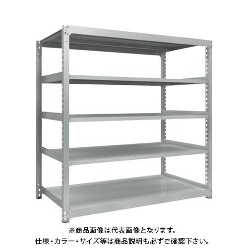【直送品】 TRUSCO TZM3型中量棚 1800X921XH1800 5段 単体 TZM3-6695