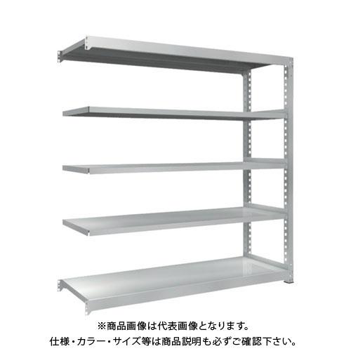 【直送品】 TRUSCO TZM3型中量棚 1800X571XH1800 5段 連結 TZM3-6665B