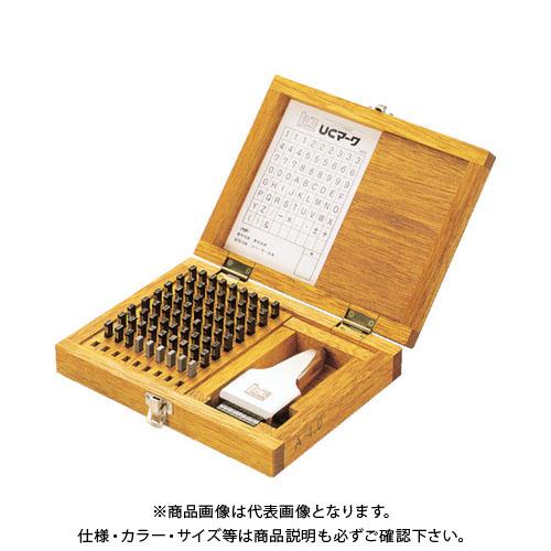 浦谷 ハイス精密組合刻印 Aセット3.0mm (1S=1箱) UC-30AS